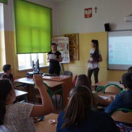 Prelekcja o rolnictwie ekologicznym w Szkole Podstawowej