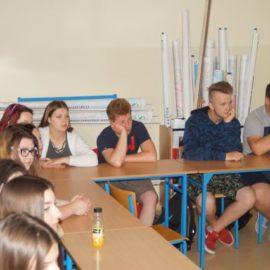Przedstawiciele firmy HEMPEL w naszej szkole