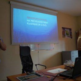 Spotkanie z przedstawicielami firmy Plastique z Dąbrowy
