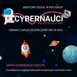 """Udział nauczycieli i rodziców w projekcie """"Cybernauci"""""""