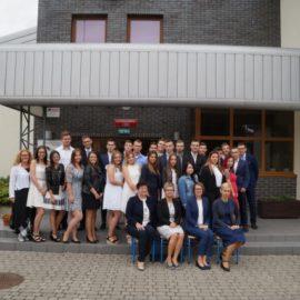 Pożegnanie absolwentów oddziałów Zasadniczej Szkoły Zawodowej