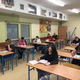 Szkolny konkurs języka angielskiego