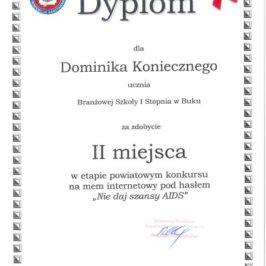 Nagroda w konkursie profilaktycznym
