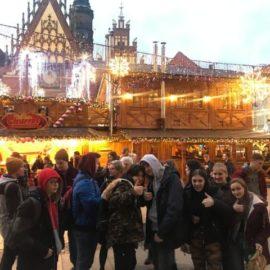 Na bożonarodzeniowym jarmarku we Wrocławiu