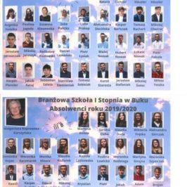 Pamiątkowe tablo absolwentów